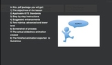 Digital Storytelling:  Creating Animations with PPT or Keynote