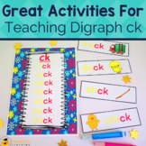 Digraph Activities, Games & Worksheets {ck}