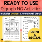 Digraph Activities, Games & Worksheets {ng}