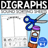 Digraph Sorts {Phonemic Awareness Sorting Series, Set #7}