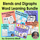 Digraph Study - Sh - Ch - Th - Wh - Interactive Notebook -