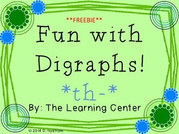 Digraph /th/ Roll and Graph