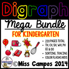 Digraphs Bundle : CH, SH, TH, WH, PH, EE, OO