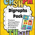 Digraphs Pack - Activities and Crafts!