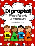 Digraphs! {Word Work Activities}