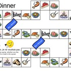 Dinner Board Game in French