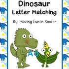 Dinosaur Letter Matching Activities