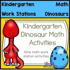 Dinosaur Math Center Activities