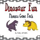 Dinosaur Phonics Game Pack