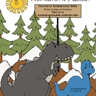 Dinosaur Themed FREE Homework Packet (Late K/Early First Grade)
