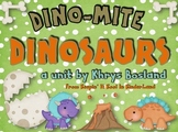 Dinosaur Unit {Common Core Aligned} {Literacy, Science and