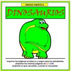 Dinosaurios Thematic Unit in Spanish