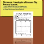 Dinosaurs and Fossils: Investigate a Fossil Dig , Primary Science