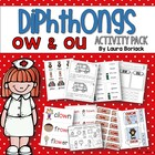 Diphthongs OW & OU ~ Activity Pack
