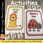 Discounted Vowel Sorting Center Games I & U with Interacti