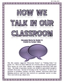 Discussion Norms for Managing Accountable Talk