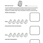Dissection of a Pickle Lab Packet (12 Total Pages, 5 Activities)