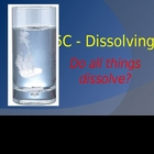 Dissolving - Intro, Investigation model & activities