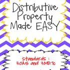 Distributive Property made EASY!  Common Core Aligned 3.OA