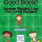 Dive into A Good Book Summer Reading Logs