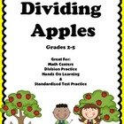 Division: Dividing Apples Task Cards