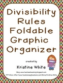 Divisibility Rules Foldable Graphic Organizer