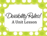 Divisibility Rules! Unit