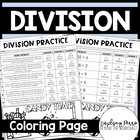Division Coloring Worksheet