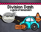 Division Dash A Game of Remainders
