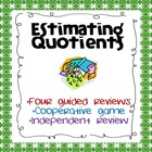 Division:  Estimating Quotients Guided Reviews and Coopera