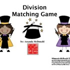 Division Matching Game Freebie!