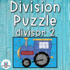 Division Puzzle Covers Divisor 2 • Common Core Standards