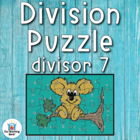 Division Puzzle Covers Divisor 7 • Common Core Standards