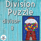 Division Puzzle Covers Divisor 8 • Common Core Standards
