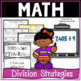 Division Strategies in 4th Grade for the Common Core Classroom