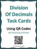 Division of Decimals TASK Cards Using QR Codes