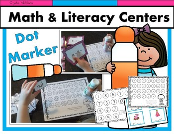 Do A Dot Marker Center Fun! 9 Do a Dot Marker Math and Lit
