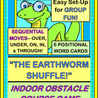"Do ""The Earthworm Shuffle"" - Group Game with an Obstacle Course!"