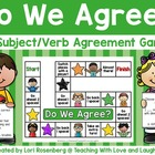 Do We Agree?  A Subject / Verb Agreement Game