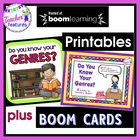 Do You Know Your Genres? 8  Activities for  Elementary Students