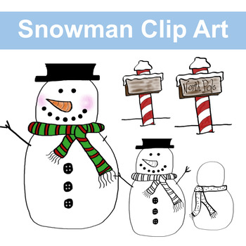 Do You Want to Build a Snowman Clip Art