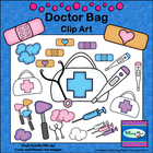 Doctor Bag Clip Art - First Aid Medical Supplies