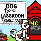 Dog Theme Pack #1 from Teacher's Clubhouse
