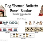 Dog Themed Bulletin Board Borders/Trimmers