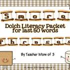 Dolch Phrases Literacy Centers- S'More Style {Last 50 Phrases}