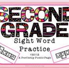 Dolch Second Grade Four Squares Activity