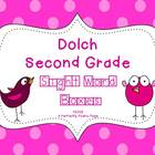 Dolch Second Grade Sight Word Boxes