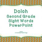 Dolch Second Grade Sight Word PowerPoint