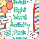 Dolch Sight Word Activity Pack- Word Wall Activities and More