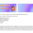 Dolch Sight Word Phrases Book